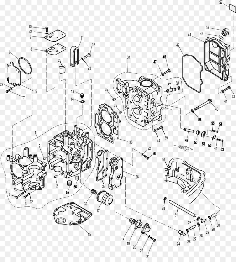 hight resolution of outboard motor yamaha motor company fourstroke engine line art angle png