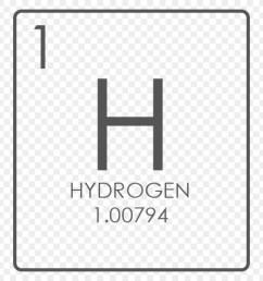 hydrogen chemical element symbol diagram square png [ 900 x 900 Pixel ]