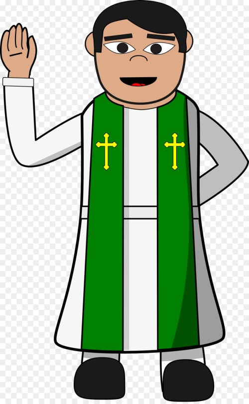 small resolution of pastor preacher priest standing human behavior png