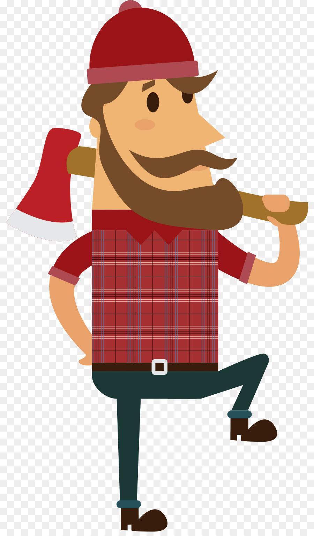 hight resolution of lumberjack paul bunyan royaltyfree art beak png