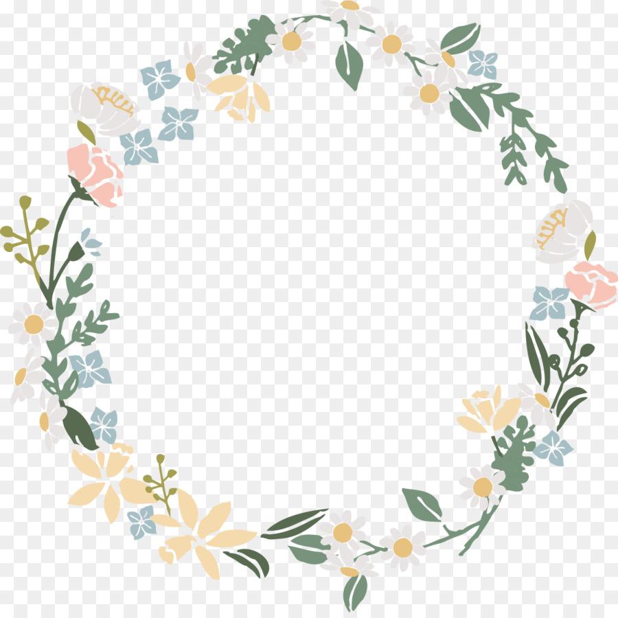 Wreath Flower Floral design  watercolor flower wreath
