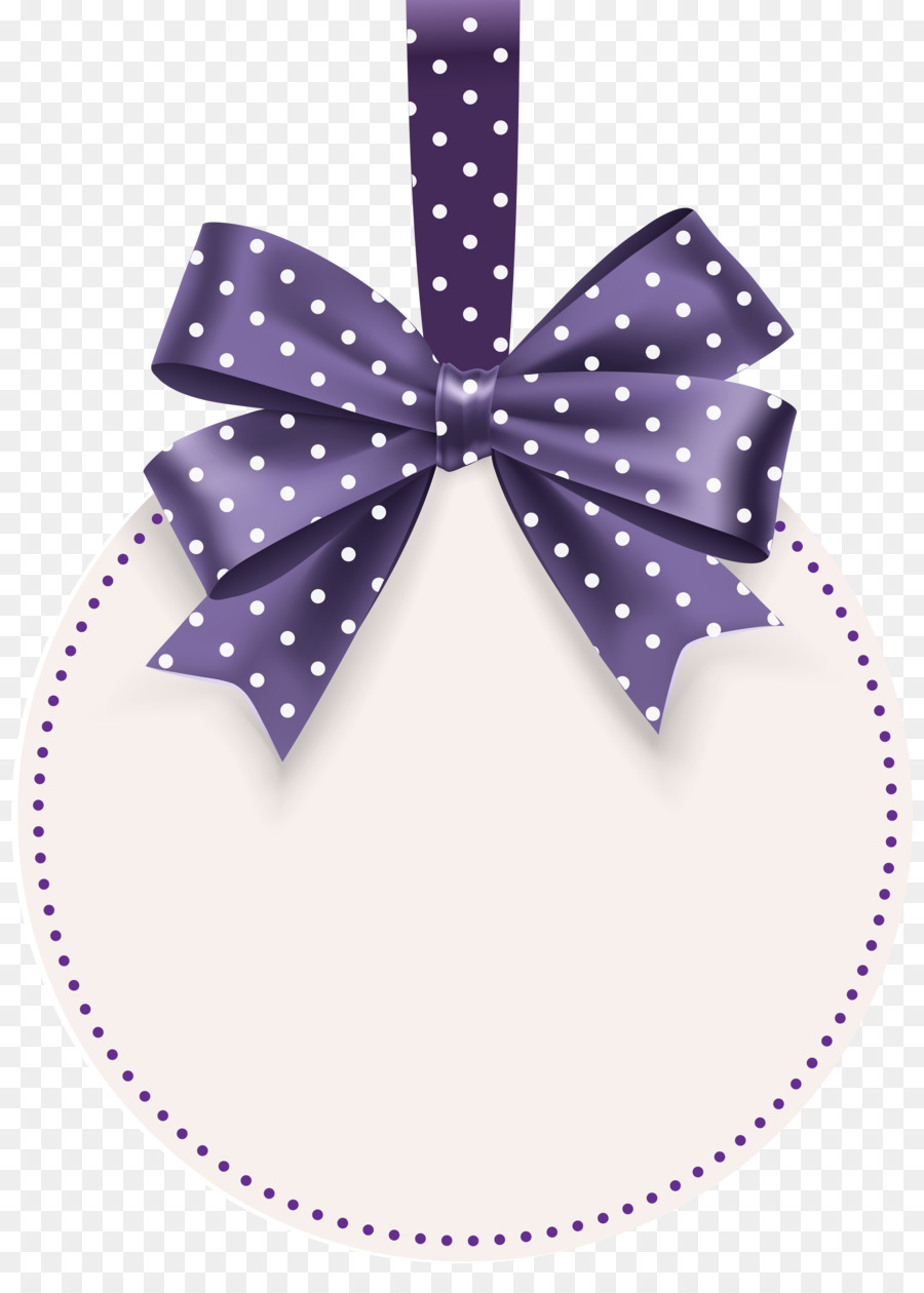 Label Template Price Tag Clip Art - Bow