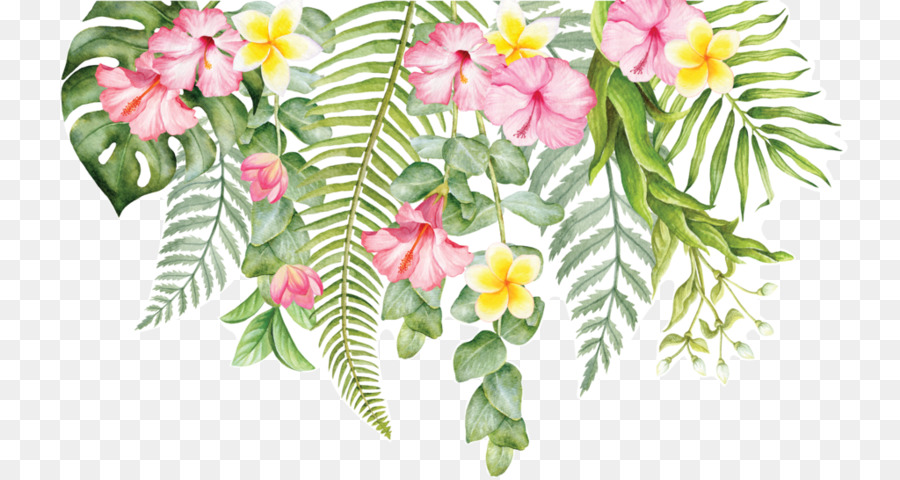 Cut flowers Wall decal Floral design