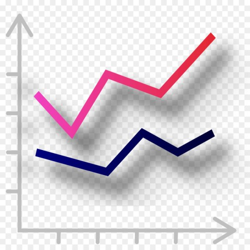 small resolution of chart line chart diagram triangle area png