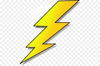 Lightning Drawing Clip art - yellow lightning png download ...
