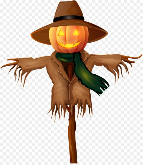 small resolution of scarecrow halloween desktop wallpaper plant tree png