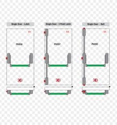 lock crash bar door handle latch bar panels png download 909 909 accident diagram software crash bar diagram [ 900 x 900 Pixel ]