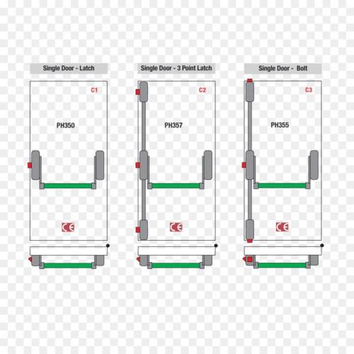 small resolution of lock crash bar door handle latch bar panels png download 909 909 accident diagram software crash bar diagram