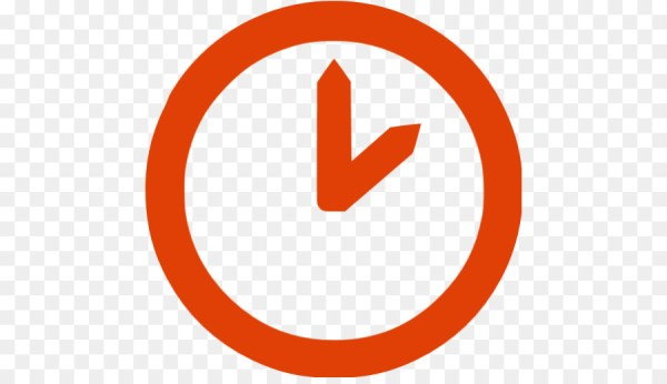 Icon Orange Timer wwwimagenesmicom