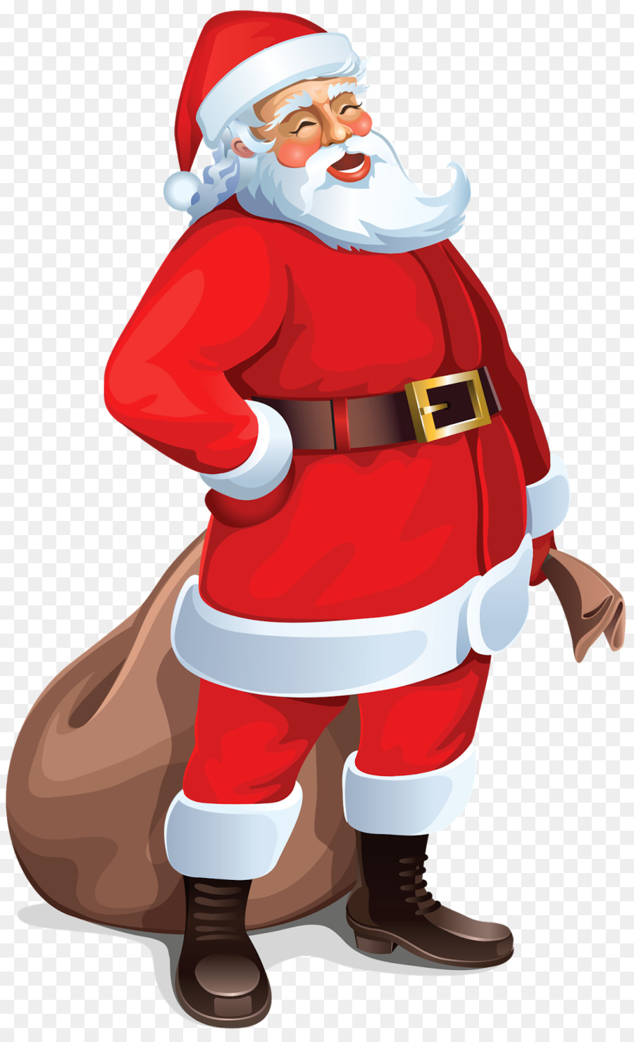hight resolution of santa claus document presentation standing costume png