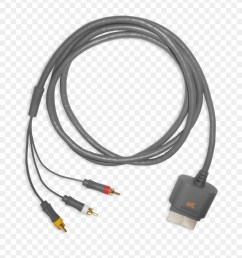 xbox 360 hdmi scart composite video electrical cable composite [ 900 x 1020 Pixel ]