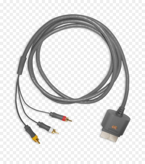 small resolution of xbox 360 hdmi scart composite video electrical cable composite