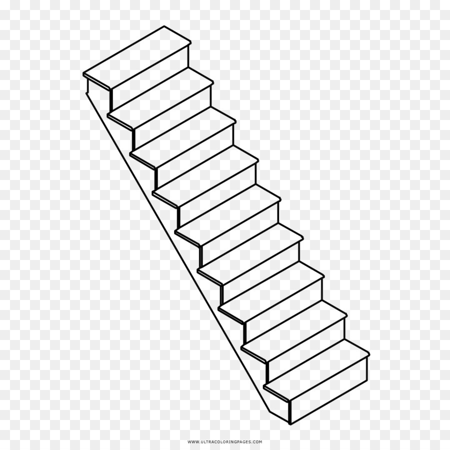 medium resolution of drawing stairs line art angle png