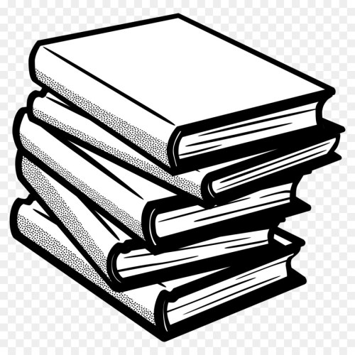 small resolution of book black and white line art angle material png