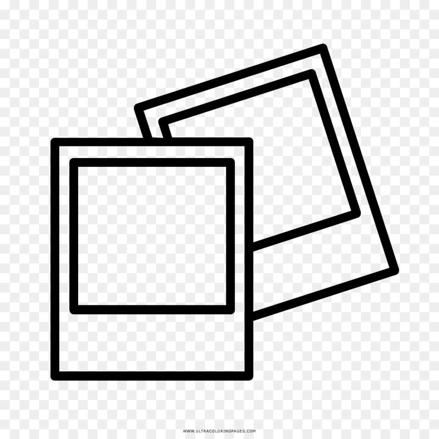 Camera Line Art Camera Coloring Page Free Transparent