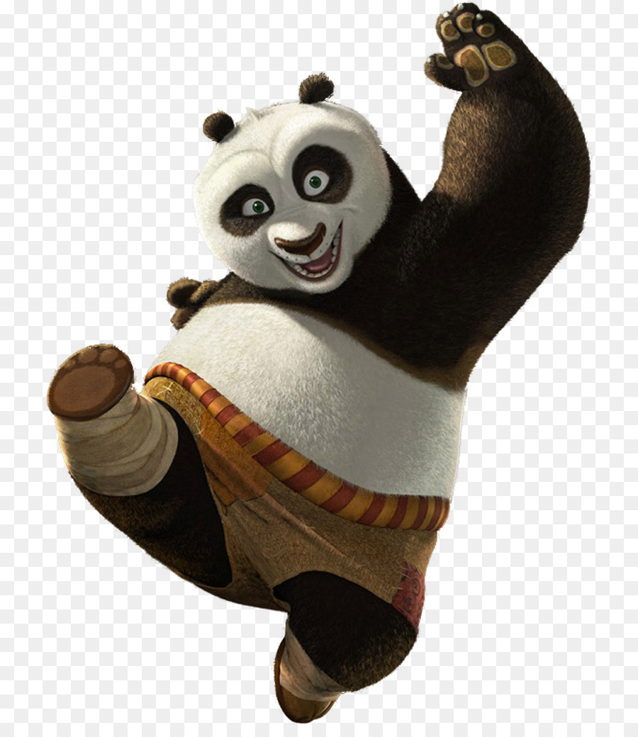 Kung Fu Panda 2 Po Giant panda - Kung-fu panda png download - 774*1024 - Free Transparent Kungfu Panda png Download.