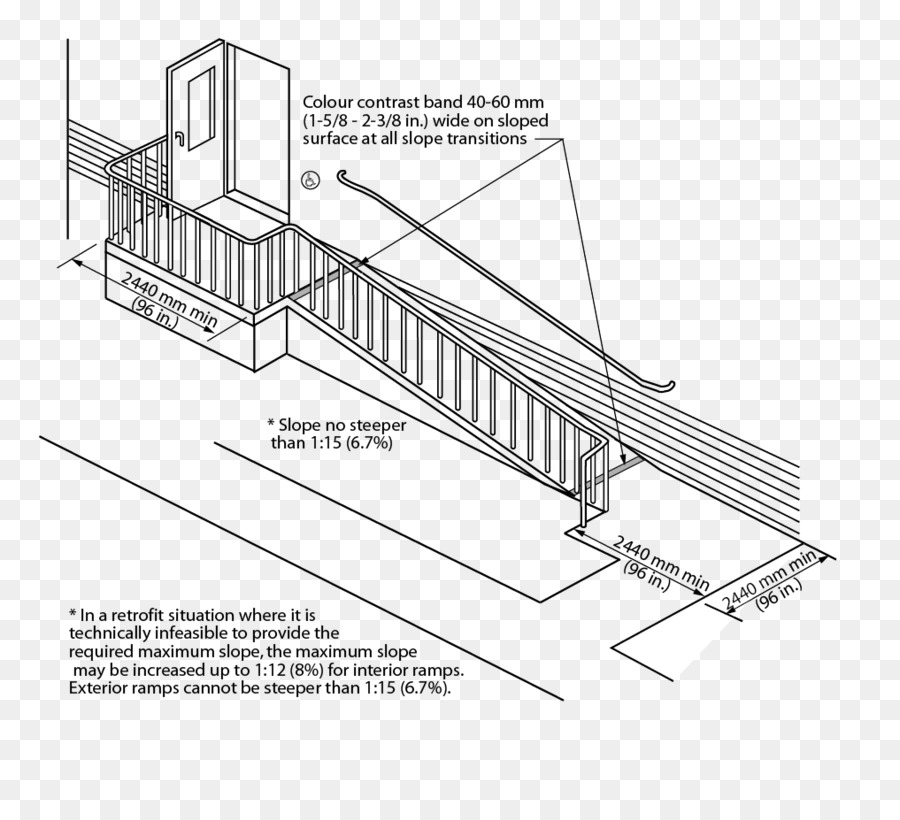Mississauga Building Wheelchair ramp Architectural