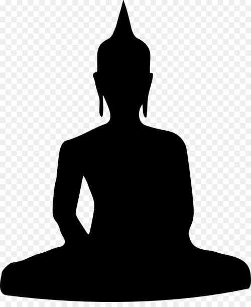 small resolution of buddhism buddhist meditation golden buddha standing silhouette png