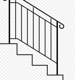 handrail stairs wrought iron point rectangle png [ 900 x 1060 Pixel ]