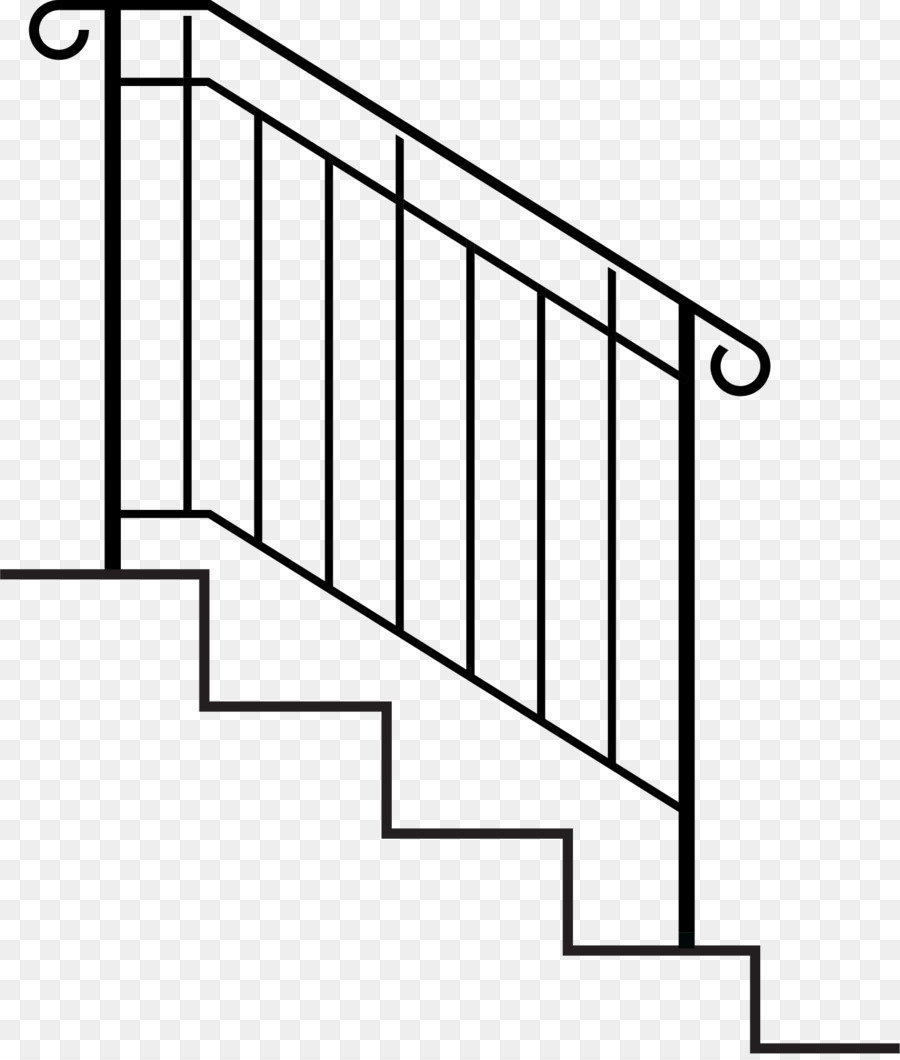 medium resolution of handrail stairs wrought iron point rectangle png