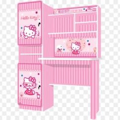 Hello Kitty Desk Chair Fabrics For Dining Chairs Table Furniture Office Cotton Candy Cart Png