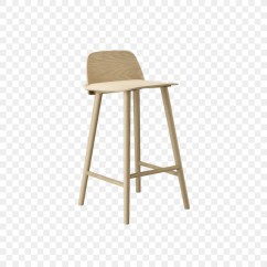 Chair Stool Small Rocking Cane Back Bar Muuto Seat Wooden Png Download 850