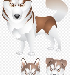 siberian husky puppy logo sled dog png [ 900 x 1440 Pixel ]