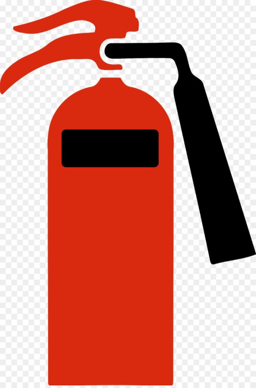 small resolution of fire extinguishers fire active fire protection rectangle red png