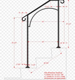 handrail stairs wrought iron angle area png [ 900 x 1020 Pixel ]