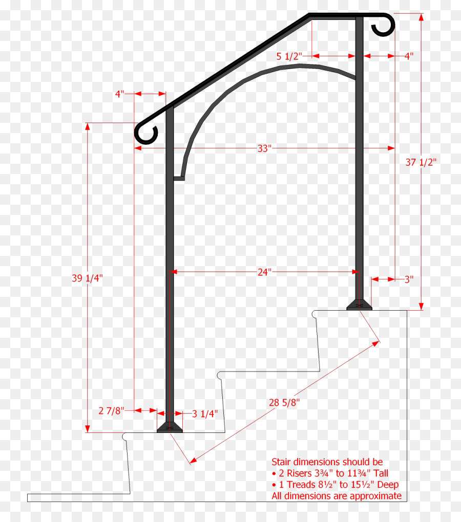 hight resolution of handrail stairs wrought iron angle area png
