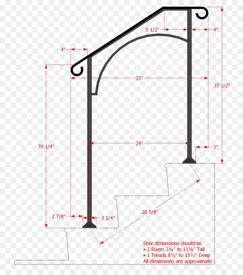 small resolution of handrail stairs wrought iron angle area png