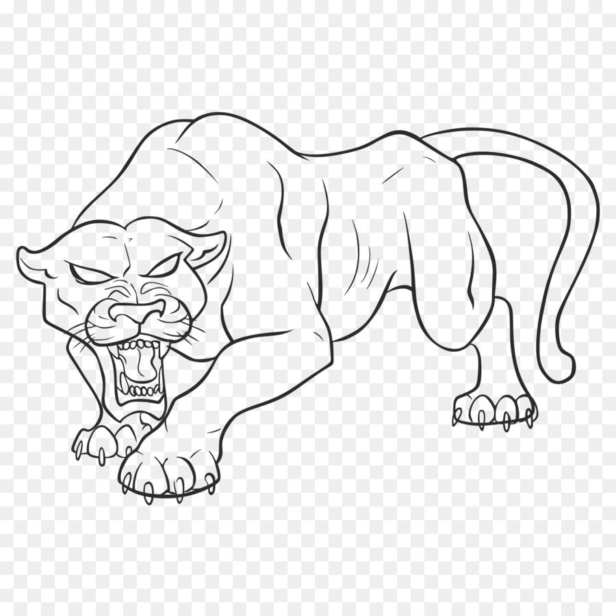 Malvorlage Schwarzer Panther Coloring and Malvorlagan
