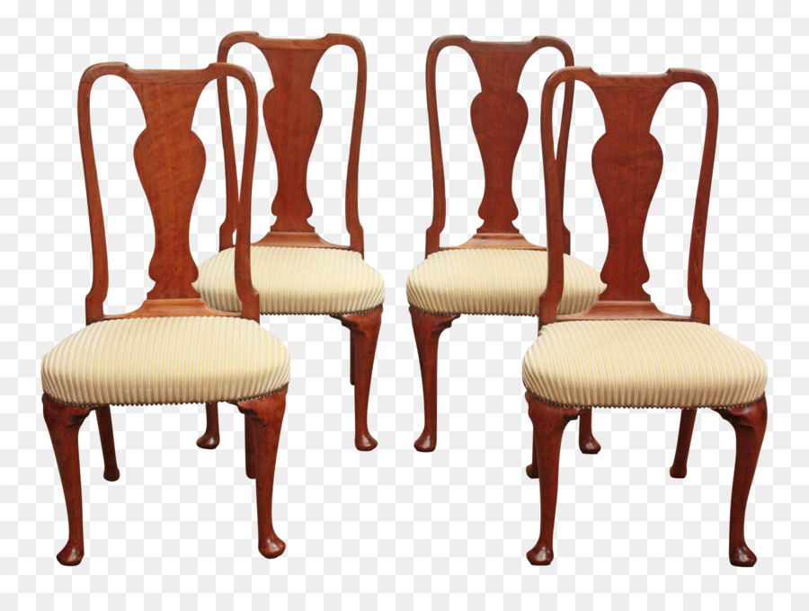 queen anne style chairs leather wingback chair next table furniture architecture mahogany