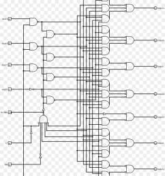 seven segment display binary decoder wiring diagram binary coded decimal binary number system [ 900 x 1040 Pixel ]