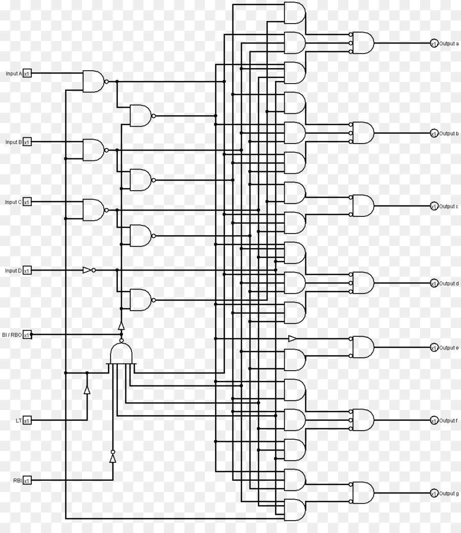 medium resolution of seven segment display binary decoder wiring diagram binary coded decimal binary number system