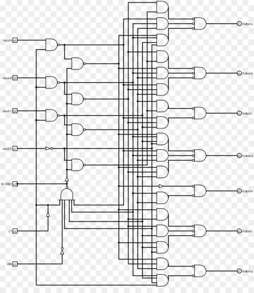 small resolution of seven segment display binary decoder wiring diagram binary coded decimal binary number system