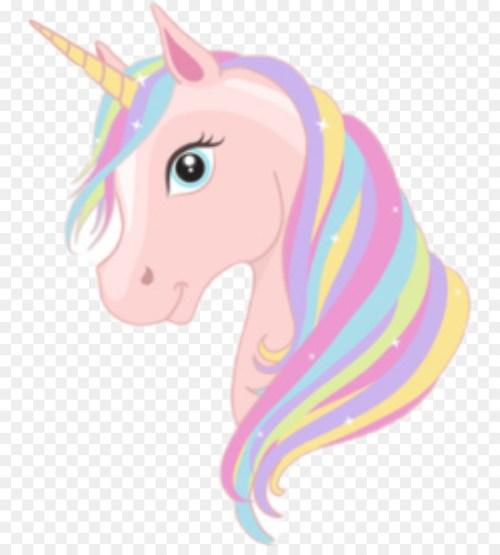 small resolution of unicorn royaltyfree art pink head png