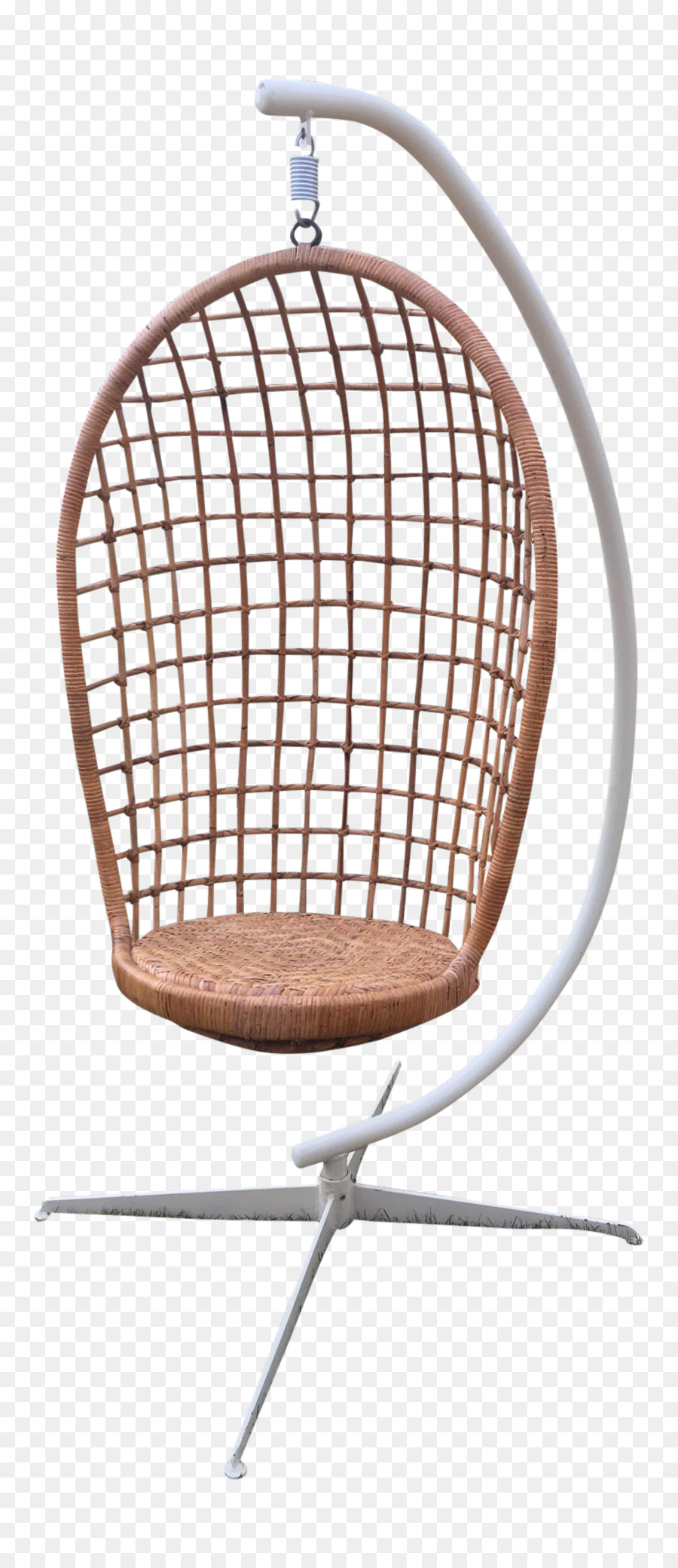 Egg Wicker Chair Chair Egg Wicker Furniture Rattan Green Rattan Png Download