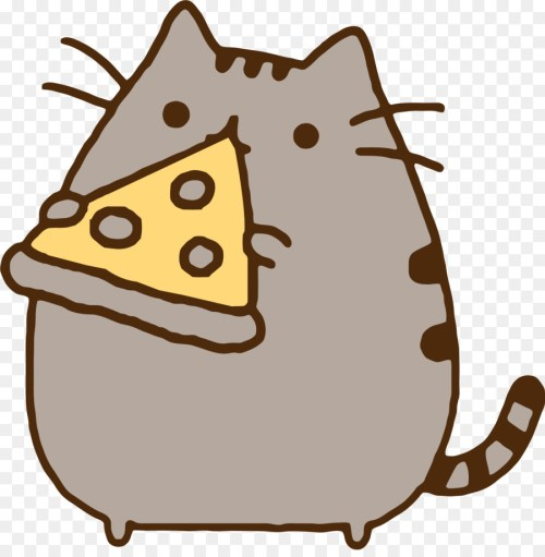 small resolution of pizza pusheen pizza pizza head small to medium sized cats png