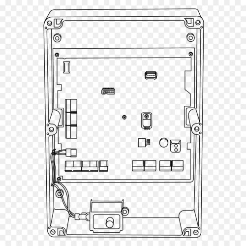 small resolution of wiring diagram electromagnetic lock diagram rectangle line art png