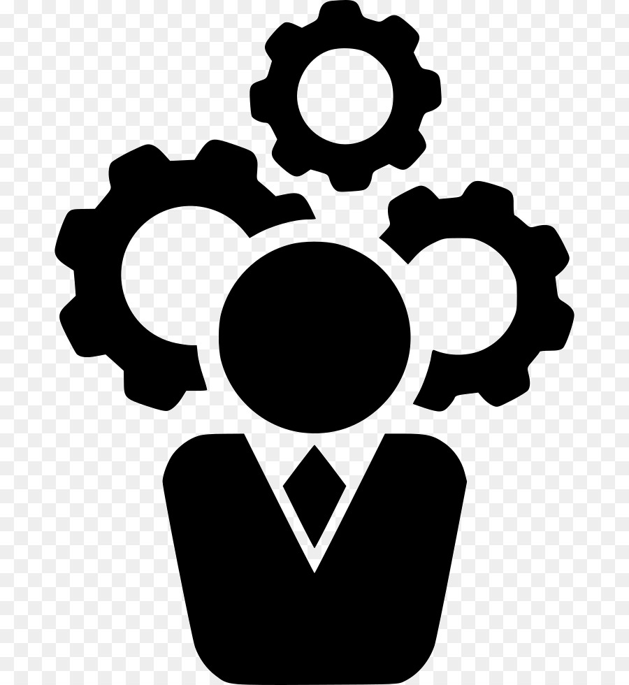 Chief Executive Computer Icons Operations management