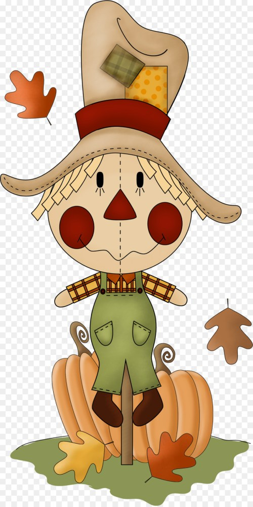 small resolution of scarecrow autumn harvest cartoon pumpkin png