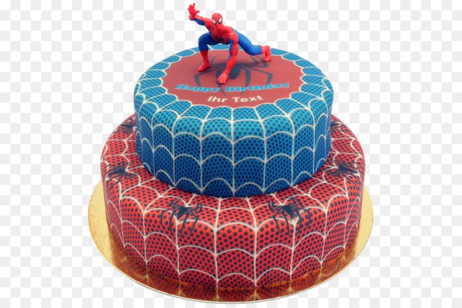 Birthday Cake Sachertorte Spider Man Cake Decorating Spider Man