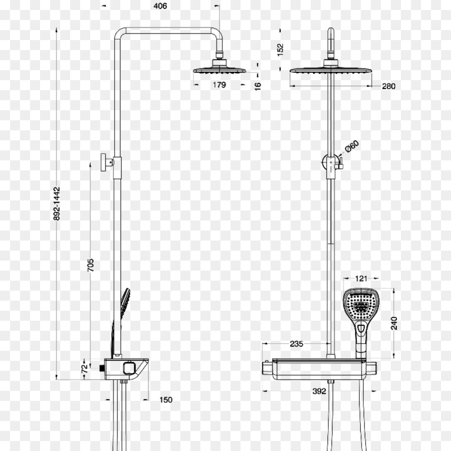 medium resolution of drawing plumbing fixtures thermostatic mixing valve structure line png