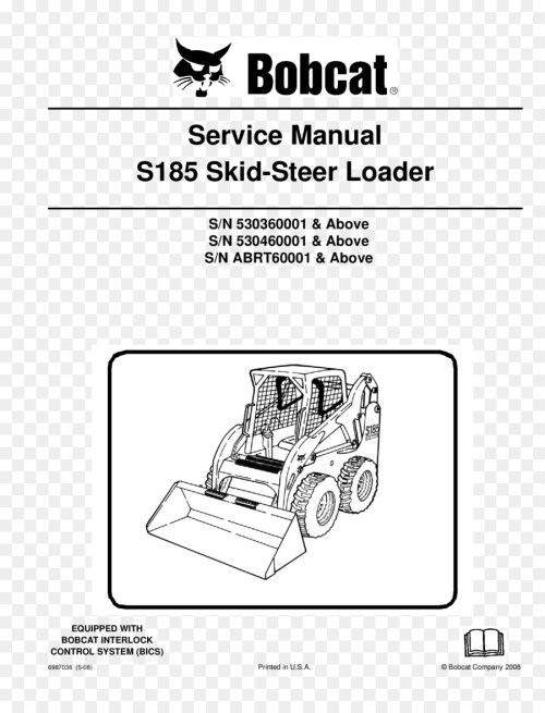 small resolution of skid steer loader bobcat company caterpillar inc product manuals wiring diagram excavator