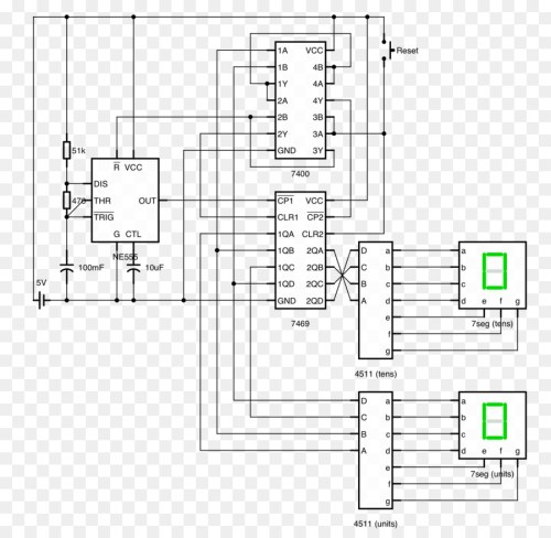 small resolution of counter circuit diagram seven segment display circuit design electronic circuit others