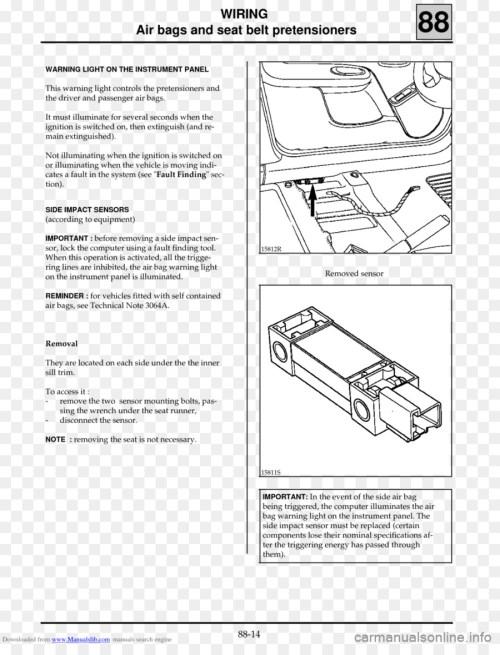 small resolution of renault megane airbag wiring diagram wiring diagram expert renault clio seat airbag wiring diagram car renault