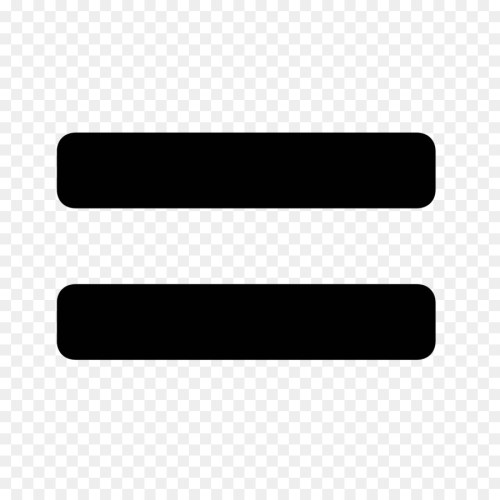 small resolution of equals sign equality computer icons black line png