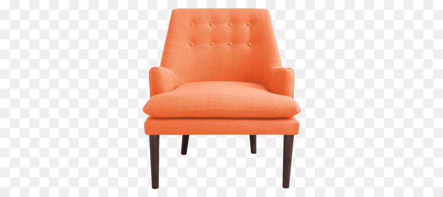 orange chair salon leather covers uk eames chaise de ameublement fauteuil club moderne du milieu siecle
