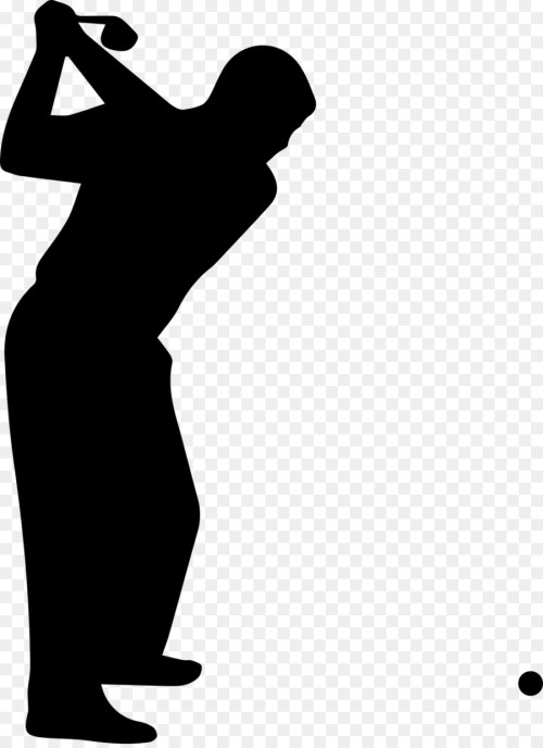 small resolution of golf golf course golf clubs black silhouette png